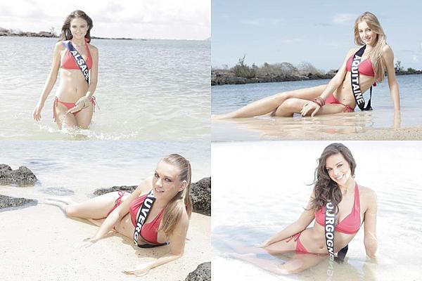 Découvrez le portrait de 33 candidates à Miss France 2013