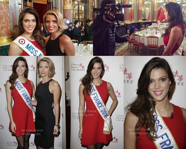 SORTIE -- Iris et Delphine étaient au Salon de la Beauté, accompagnée de Fauve le 09 mars à Paris.