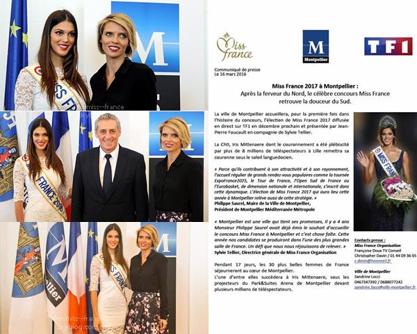 INFORMATION -- Miss France 2017