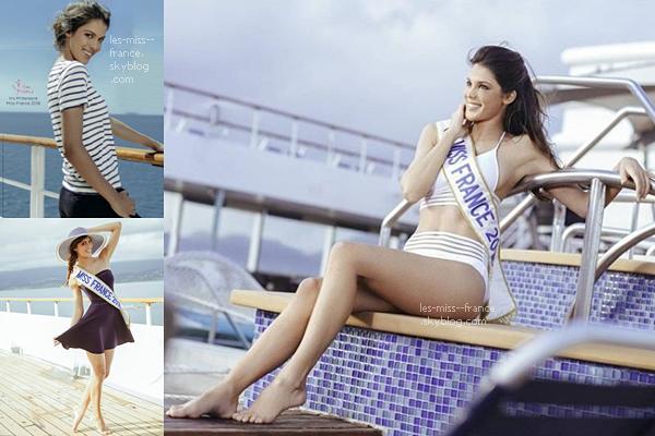 De nouvelles photos d'Iris lors de la croisière miss France datant du 10 janvier dernier 🌸