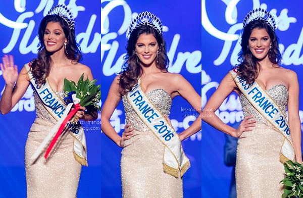 01 Mai 2016 | Iris vient de remettre sa toute première couronne, celle de Miss Flandre !