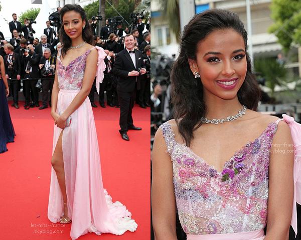 EVENTS -- Flora était sur le tapis rouge du Festival de Cannes, le 14 mai 2016.
