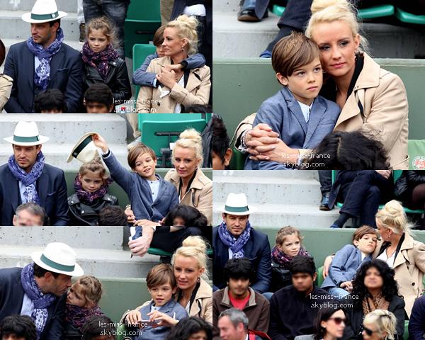 05 Juin 2016 | On retrouve pour la deuxième fois Iris et Sylvie à Roland Garros, accompagnée de Laury.