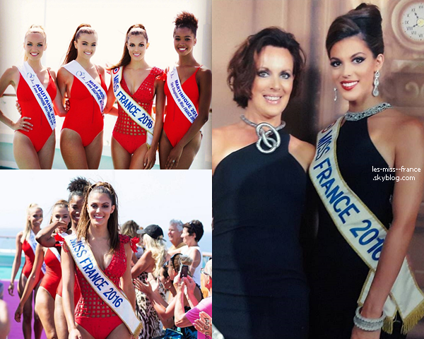 De nouvelles photos de la Croisière miss France du 25 juin sont sorties !
