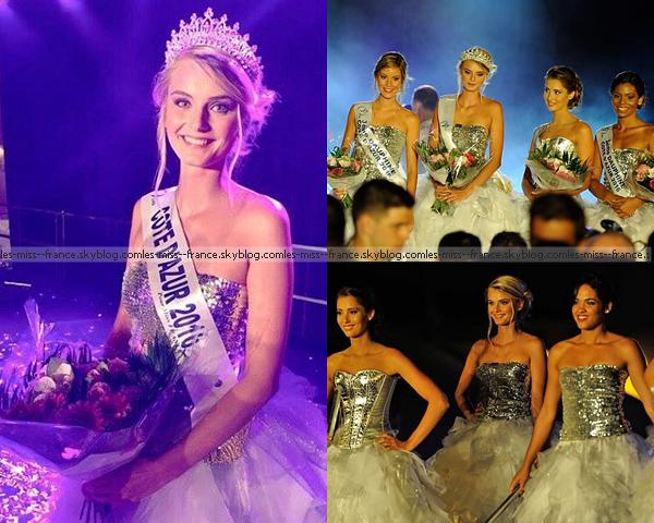 Miss Côte d'Azur 2016 est Maria Pavelin