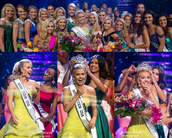 Miss Teen Usa 2016 est Miss Texas !