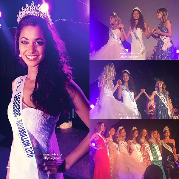 Miss Languedoc-Roussillon 2016 est Aurore Kichenin