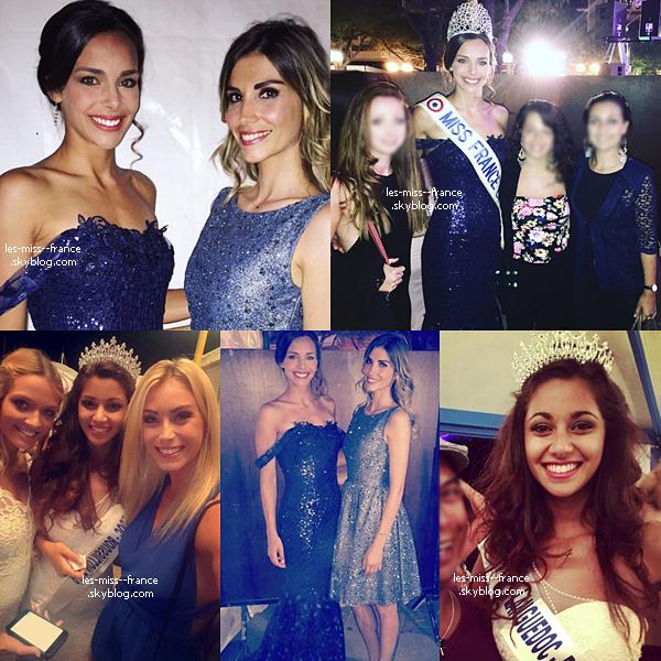 06 Août 2016 | Marine et Alexandra étaient à l'élection de Miss Languedoc-Roussillon