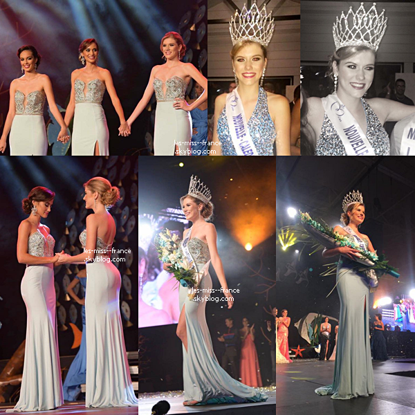 Miss Nouvelle Calédonie 2016 est Andréa Lux
