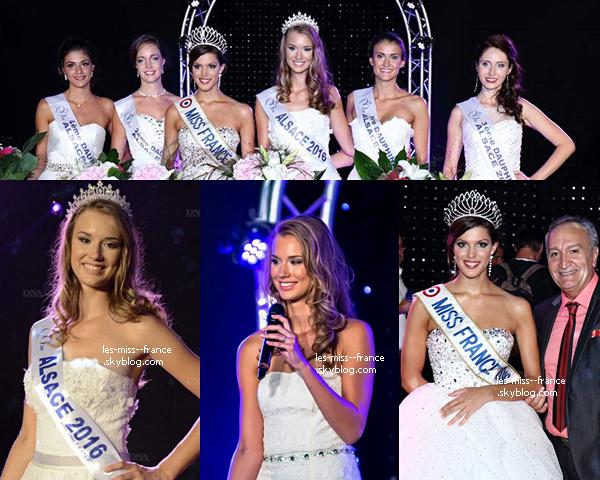 Miss Alsace 2016 est Claire Godard