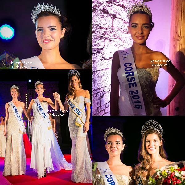 Miss Corse 2016 est Laetitia Duclos