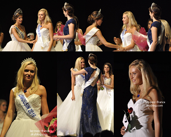 Miss Limousin 2016 est Romane Komar