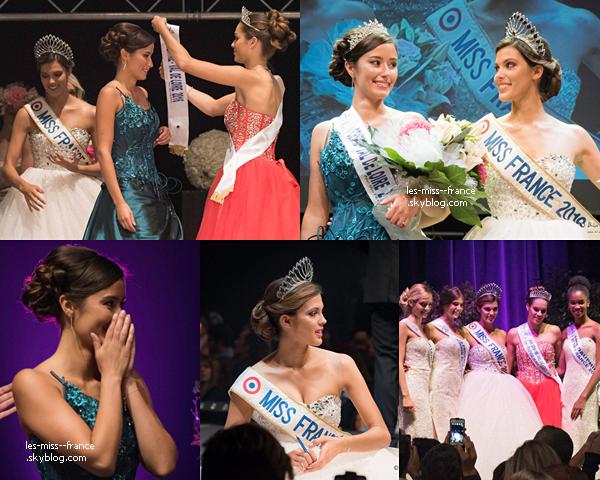 Miss Centre Val De Loire 2016 est Margaux Legrand Guerineau