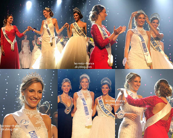 Miss Champagne Ardenne 2016 est Charlotte Patat
