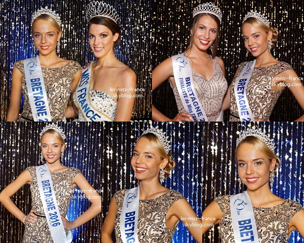 Miss Bretagne 2016 est Maurane Bouazza