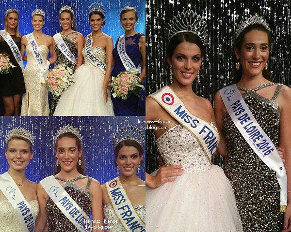 Miss Pays de Loire 2016 est Carla Loones