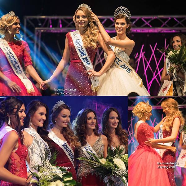 Miss Aquitaine 2016 est Axelle Bonnemaison