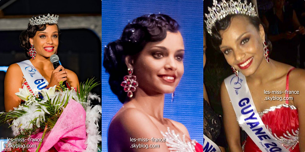 Miss guyane 2016 est alicia aylies miss france - Miss guyane alicia aylies ...