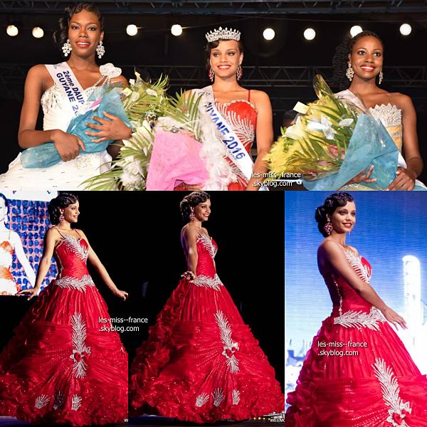 Miss Guyane 2016 est Alicia Aylies