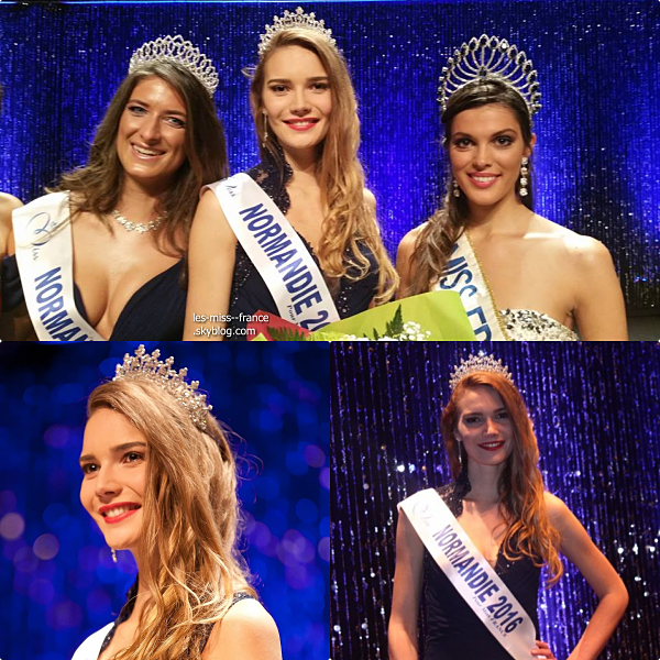 Miss Normandie 2016 est Esther Houdement