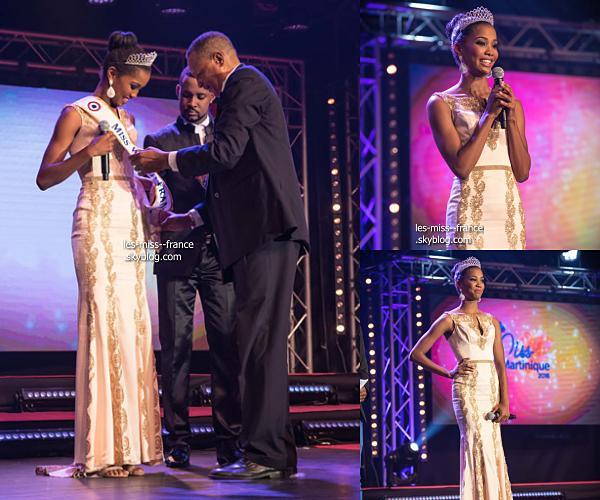 Miss Martinique 2016 est Aurélie Joachim