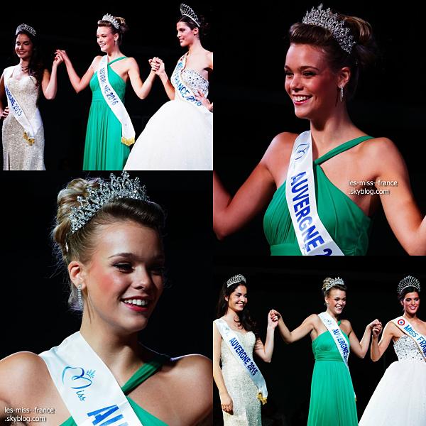 Miss Auvergne 2016 est Océane Faure