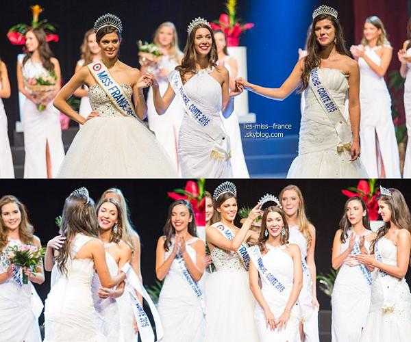 Miss Franche Comté 2016 est Melissa Nourry