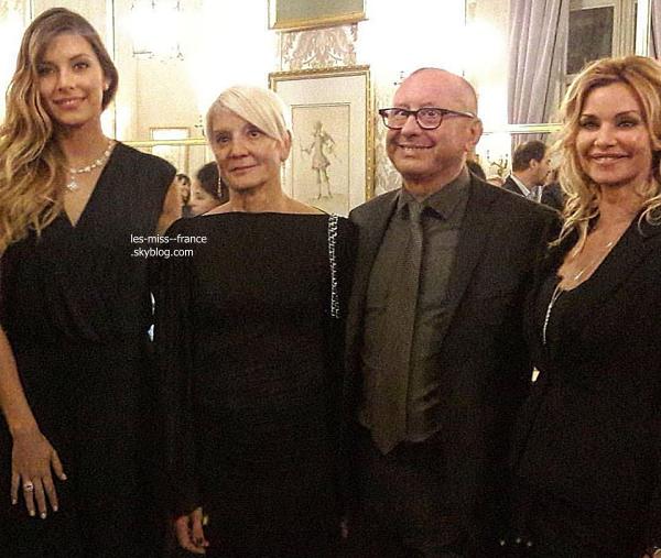 20 Nov. 2016   Sylvie était l'avant première du film Alliés au cinéma de UGC à Paris.