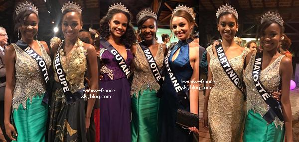12 Déc. 2016 | A J-5 de l'élection Miss France, nos miss continuent les répétitions.