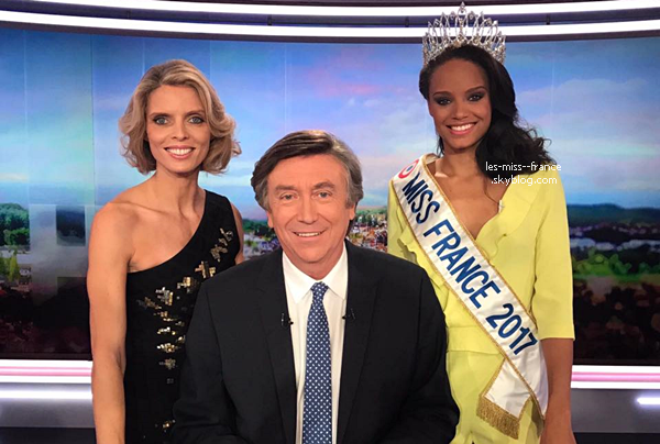 Actualité Miss France : Tournée médiatique