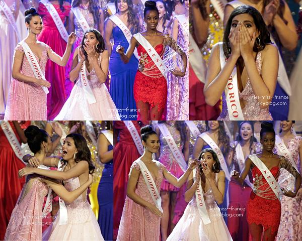Miss Monde 2016 est Miss Porto Rico !
