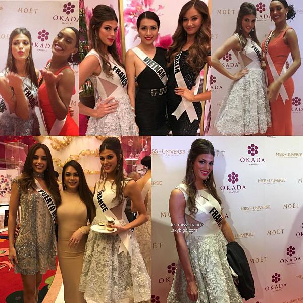 Séance photos pour Miss Univers et photos officielles