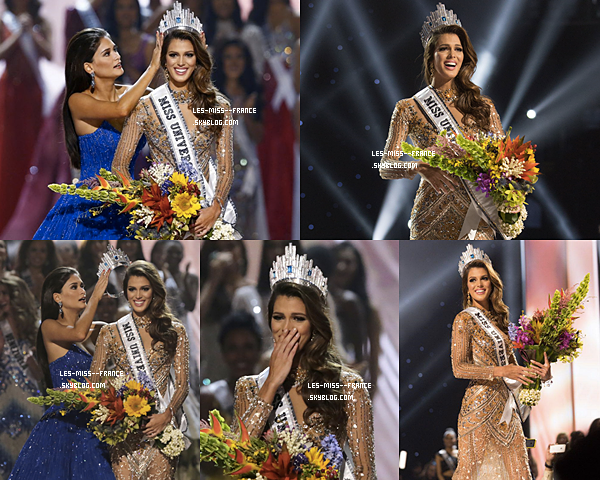 Miss Univers 2016 est Miss FRANCE !