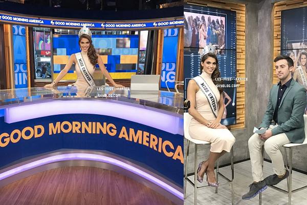 06 Fév. 2017 | La tournée médiatique Miss Univers commence !