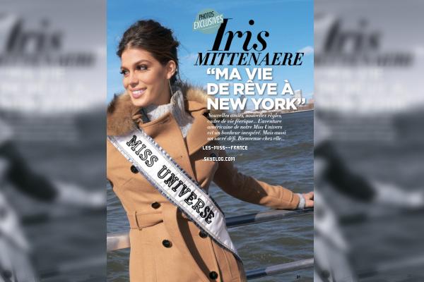21 Fév. 2017 | Sonia Rolland en couverture du premier magazine FDF