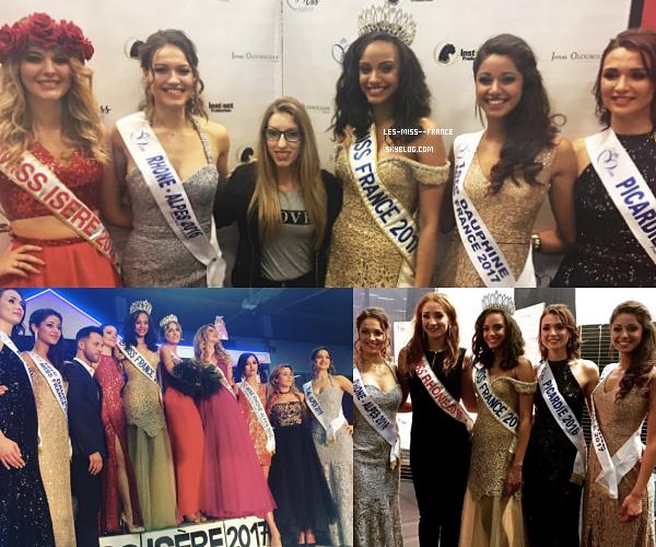 11 Mars 2017 | Alicia à l'élection de Miss Isère