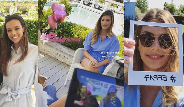 26 avril 2017 | Journée chargée pour notre Miss France, Alicia Aylies.