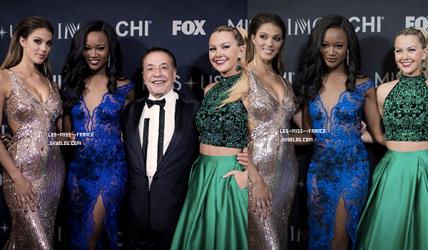 14 mai 2017 | Red Carpet / Élection de Miss USA