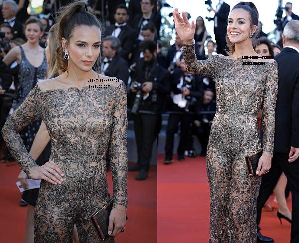 EVENTS -- Marine était sur le tapis rouge du Festival de Cannes, le 19 mai 2017