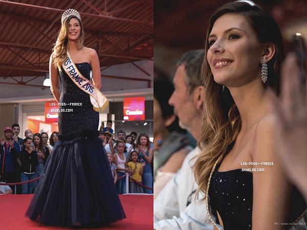 10 juin 2017 | Alicia était à l'élection de Miss Montpellier.
