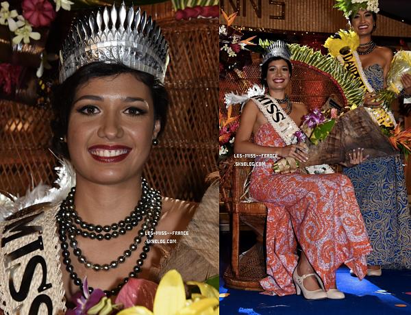 Miss Tahiti 2017 est Turouru Temorere