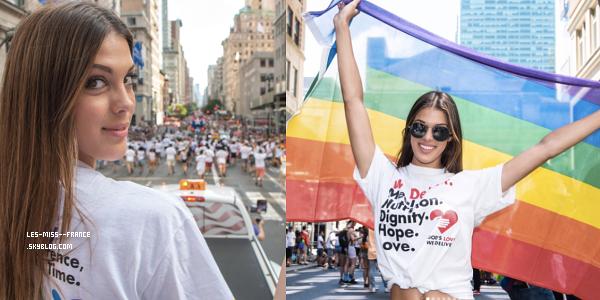 25 juin 2017 | Iris défilé dans les rues de New York.