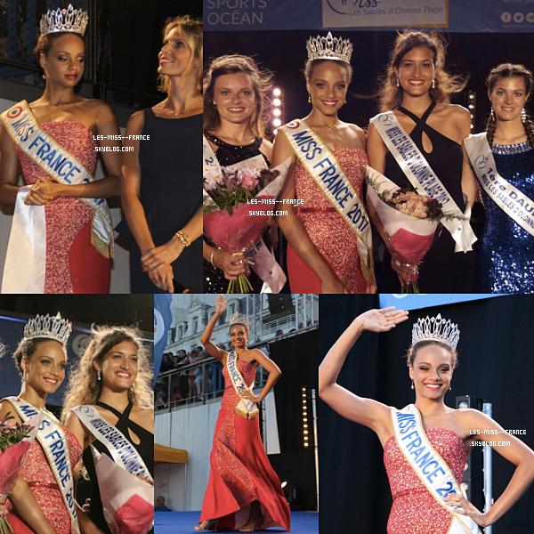02 août 2017 | Alicia et Sylvie étaient à l'élection de Miss Plage Les Sables d'Olonne