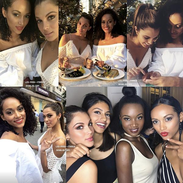 09 août 2017 | Iris en compagnie de différentes miss