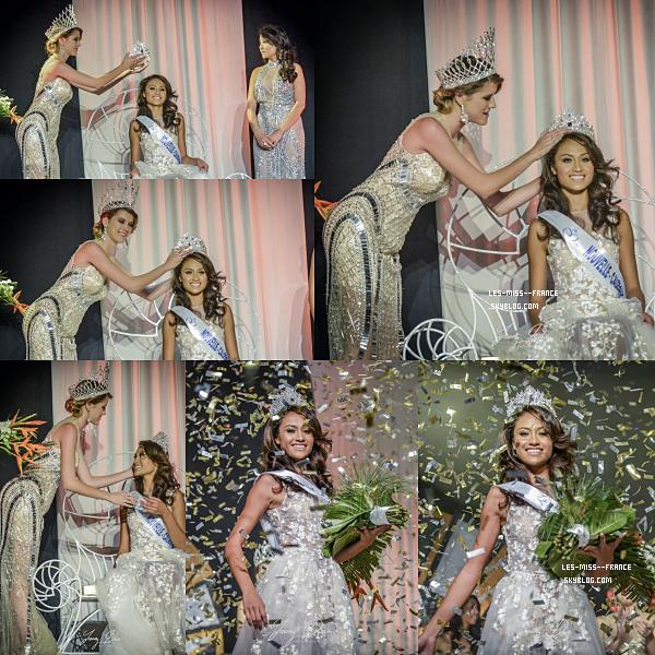 Miss Nouvelle Calédonie 2017 est Lévina Napoléon