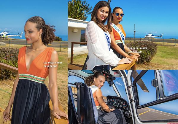 22 août 2017 | Alicia est à la Réunion avec le show Miss France