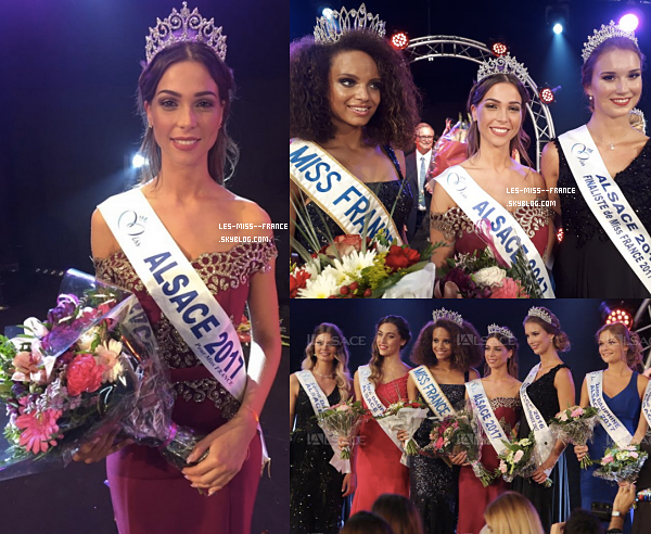 Miss Alsace 2017 est Joséphine Meisberger