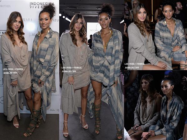07 sept. 2017 | Alicia à une avant première / Iris à la Fashion week de New York