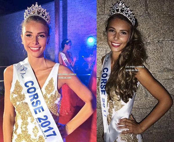 Miss Corse 2017 est Eva Colas