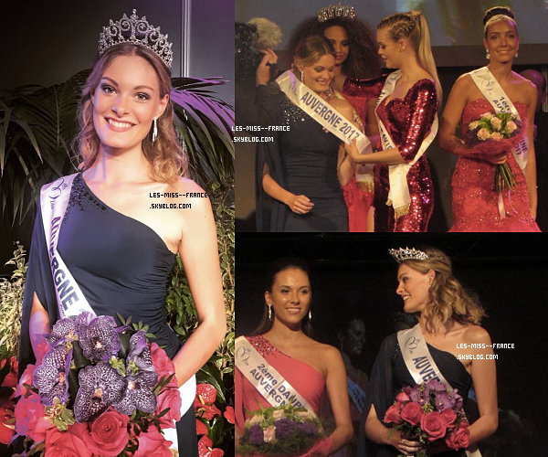 Miss Auvergne 2017 est Marie-Anne Halbwachs